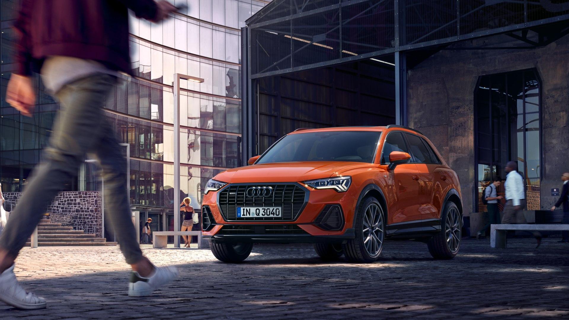 Audi Q3 voorkant