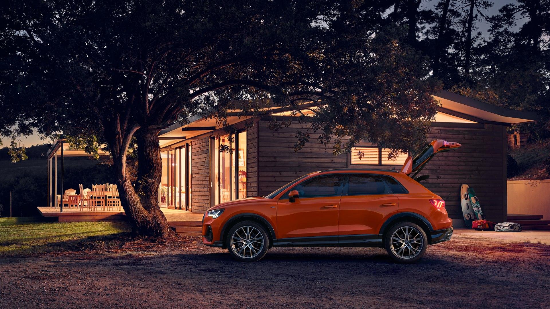 Audi Q3 zijkant