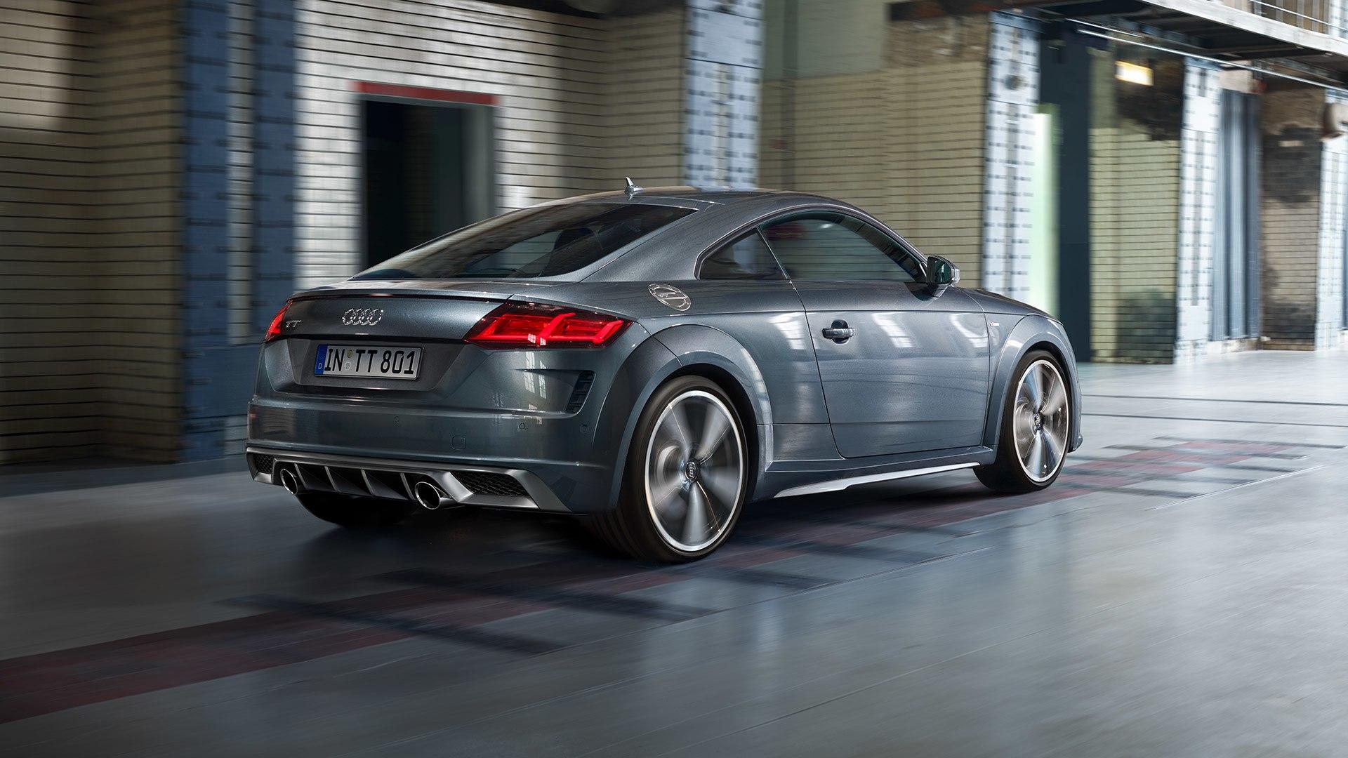 Audi TT achterkant