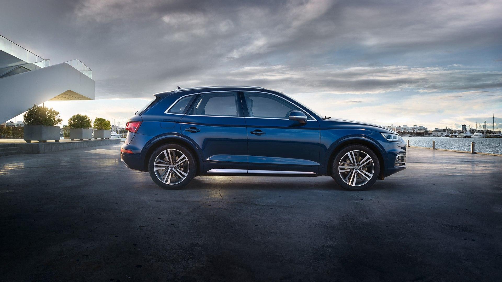 Audi Q5 zijkant