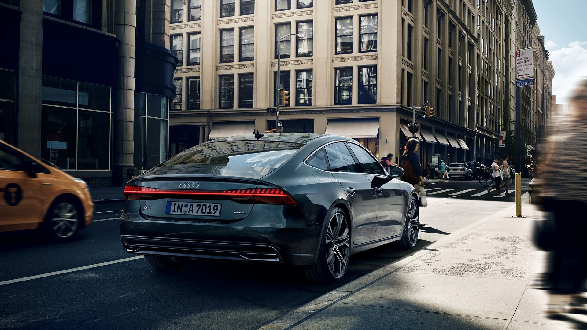 Audi A7 achterkant