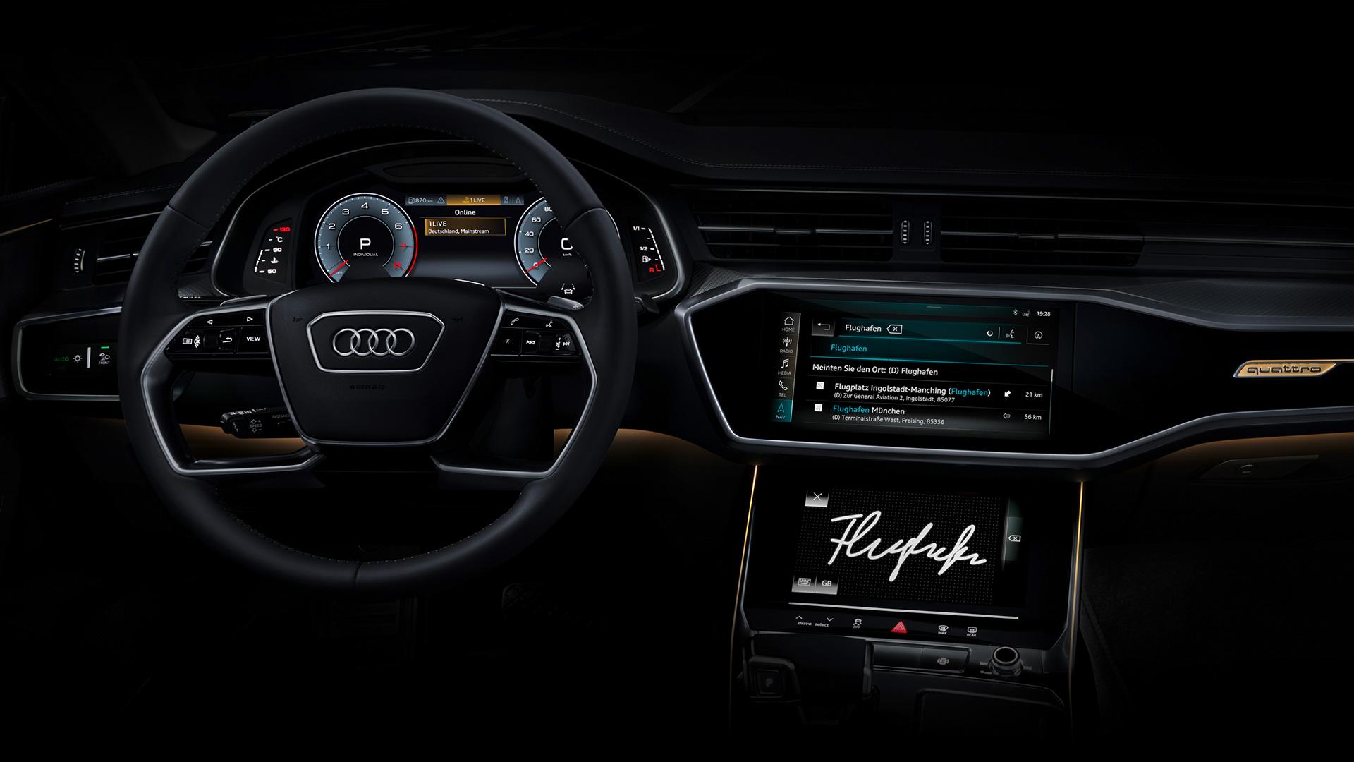 Audi A7 Interieur