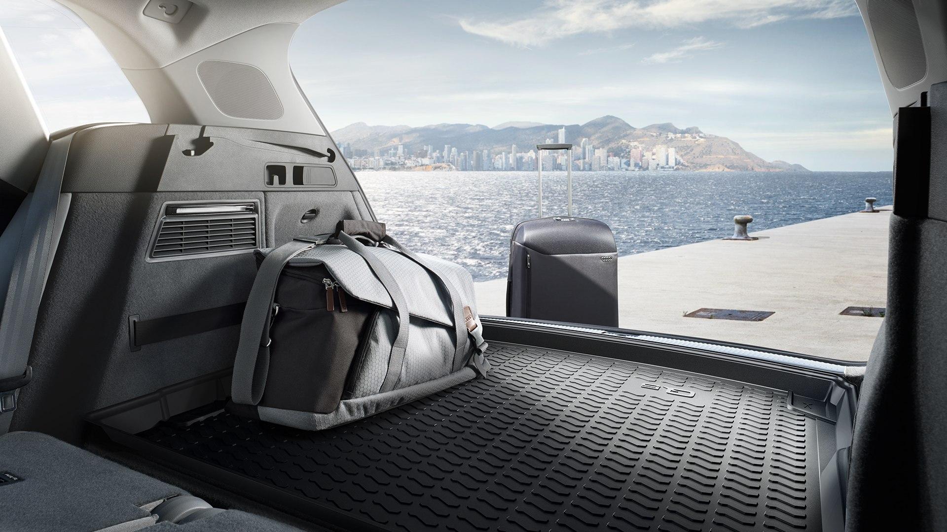 Audi Q5 laad ruimte